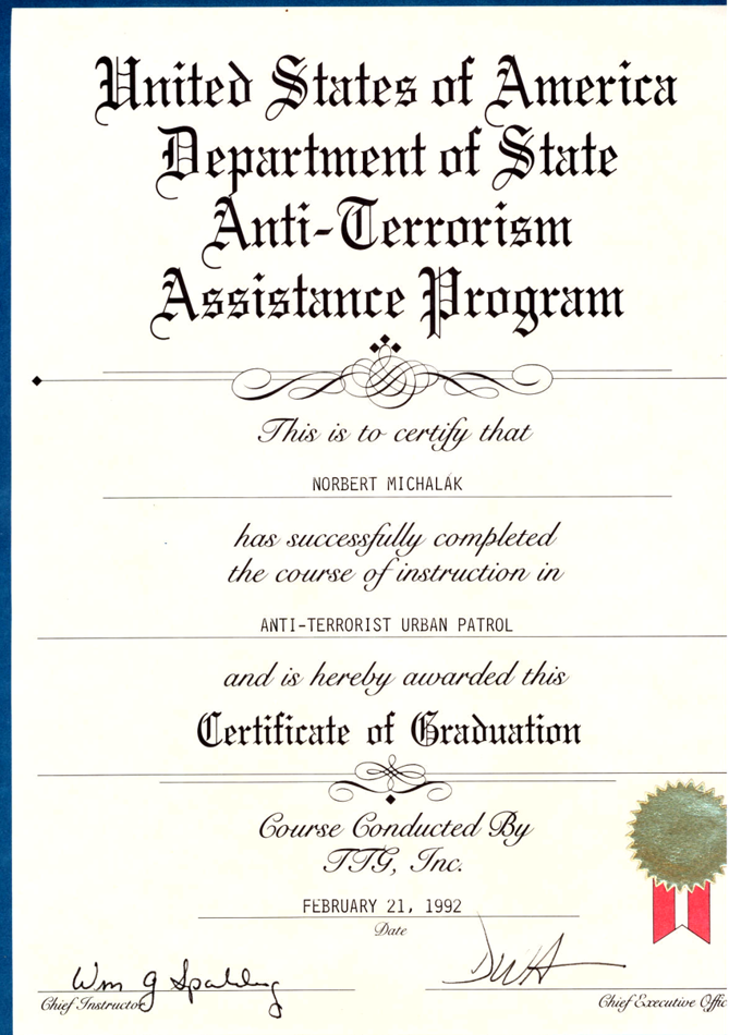 Anti-Terrorism Assistence Program